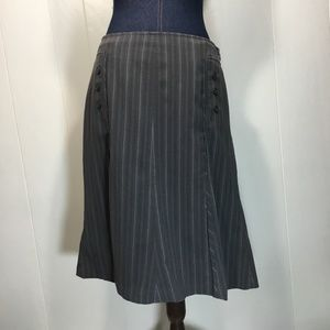 Worthington stretch striped pencil skirt